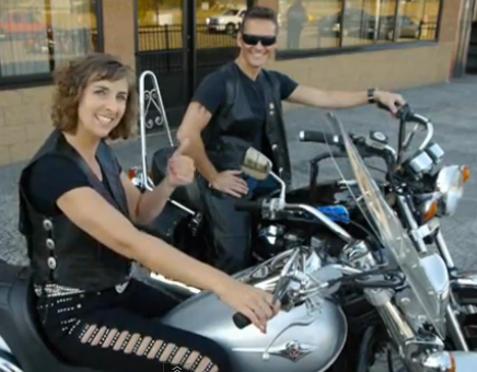"""Cool Rider"" Biker Chick Video is LIVE!"